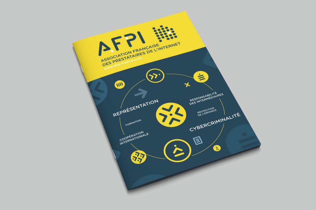 BRANDING AFPI - plaquette -création graphique WALA studio graphique