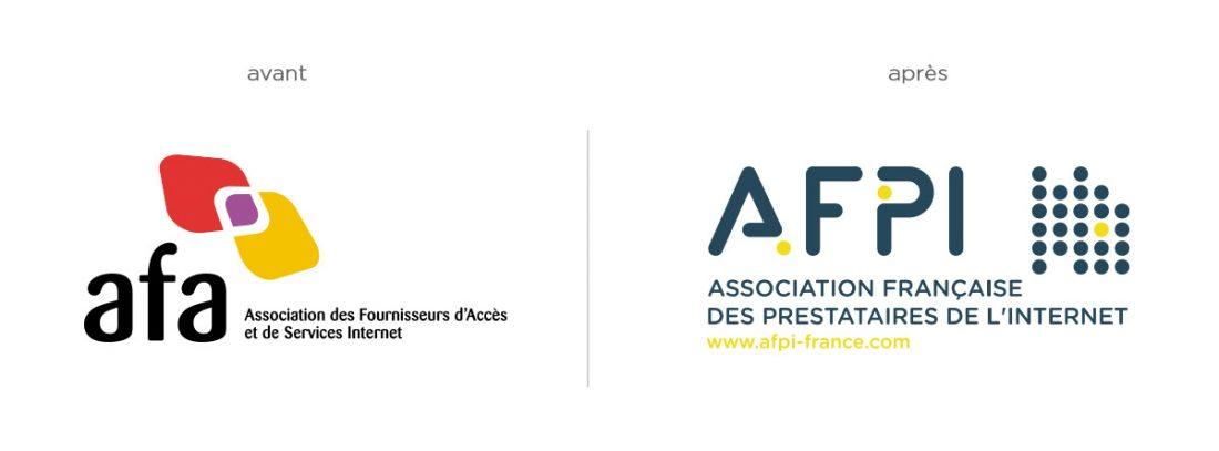 BRANDING : l'AFA devient AFPI - création graphique WALA studio graphique