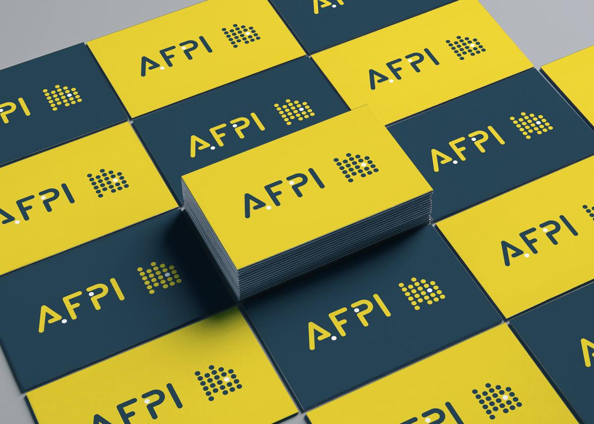 branding AFPI - création WALA studio graphique - CAEN PARIS