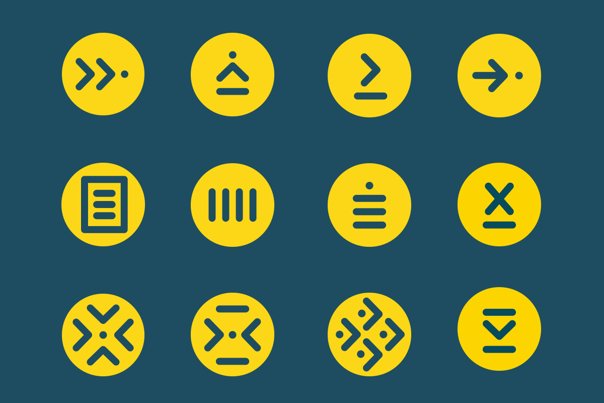 Branding pictogramme AFPI - creation WALA studio graphique