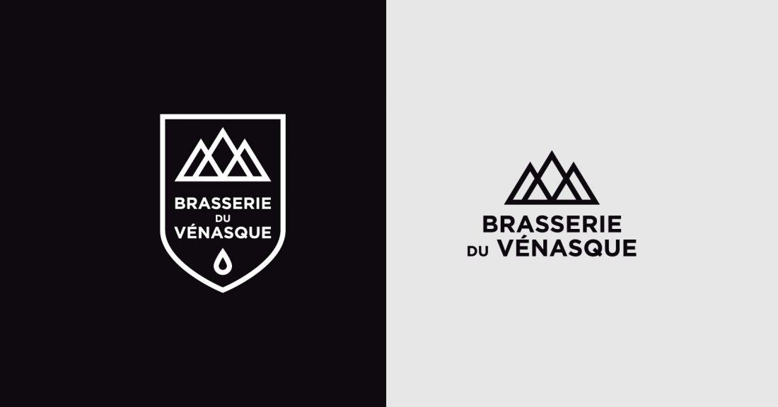 Communication globale pour la Brasserie du Vénasque - logo charte graphique -WALA STUDIO GRAPHIQUE