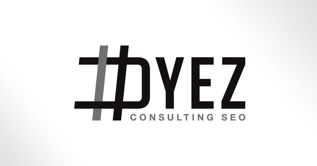 Dyez Consulting SEO - logotype et suite de correspondance - création WALA STUDIO GRAPHIQUE