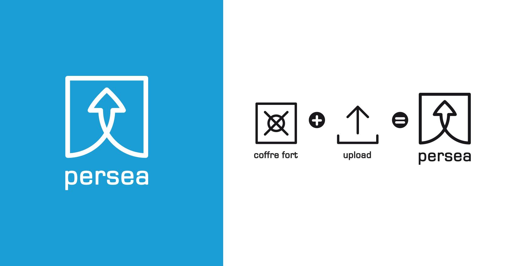 Persea - cloud - logotype - identité visuelle - WALA STUDIO
