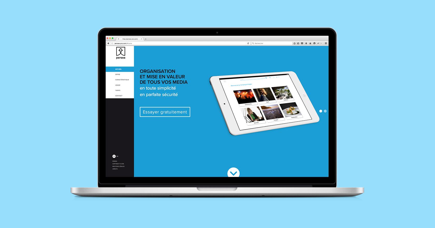 Persea - cloud - webdesign - WALA STUDIO
