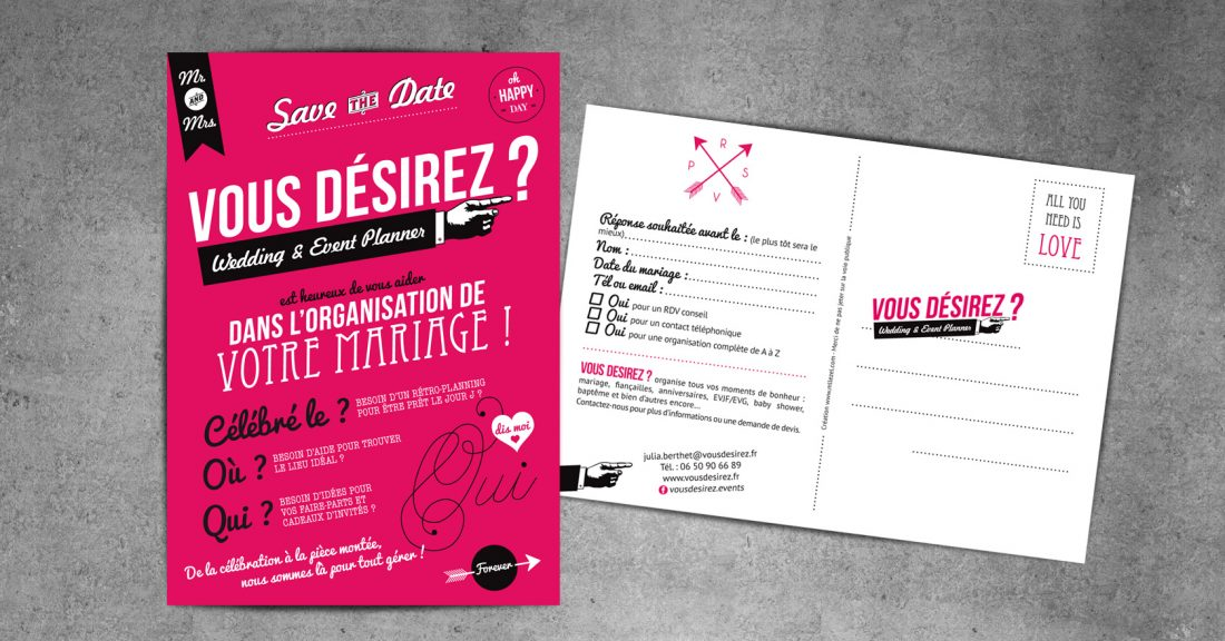 VOUS DESIREZ ? - NAMING, logotype et communication - WALA STUDIO