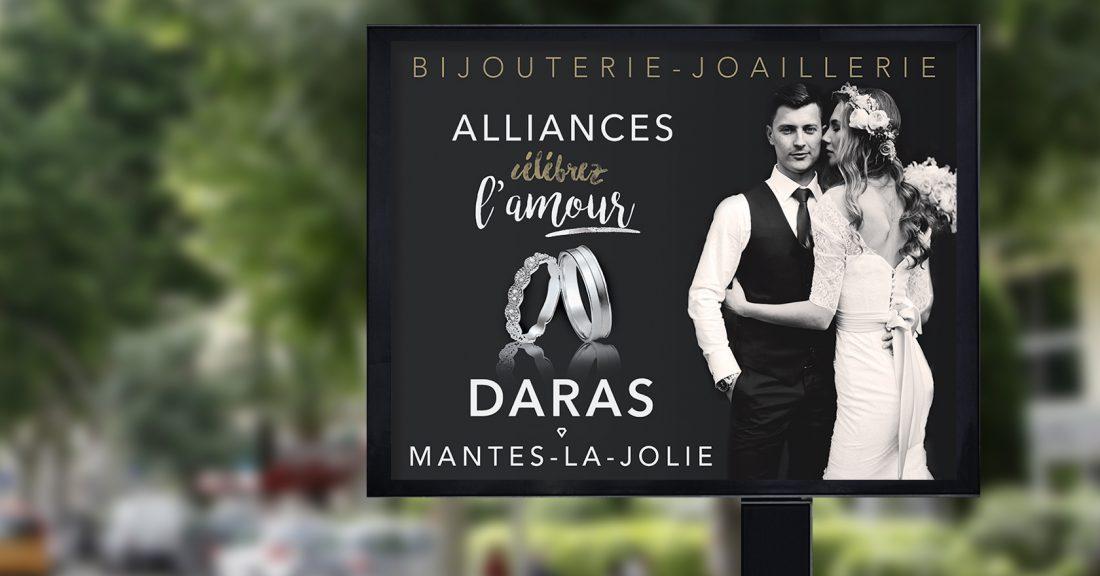 Identité Visuelle de DARAS - bijouterie-joaillerie - 4x3