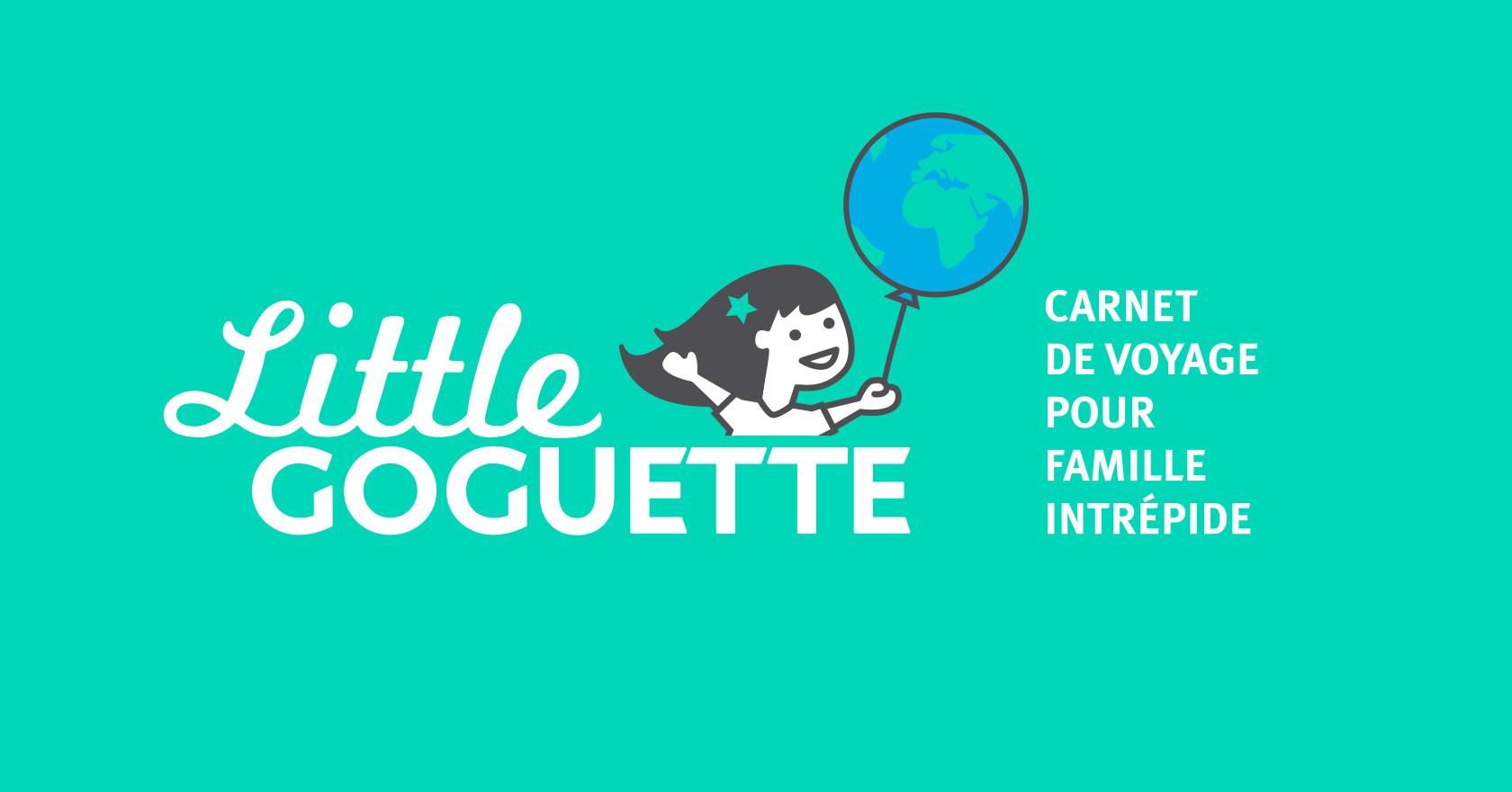 Logotype Little Goguette : illustration, logo, identité, site web - Wala Studio Graphique