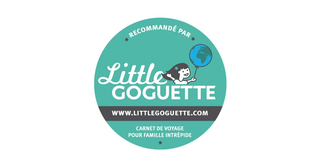 sticker Little Goguette : illustration, logo, identité, site web - Wala Studio Graphique