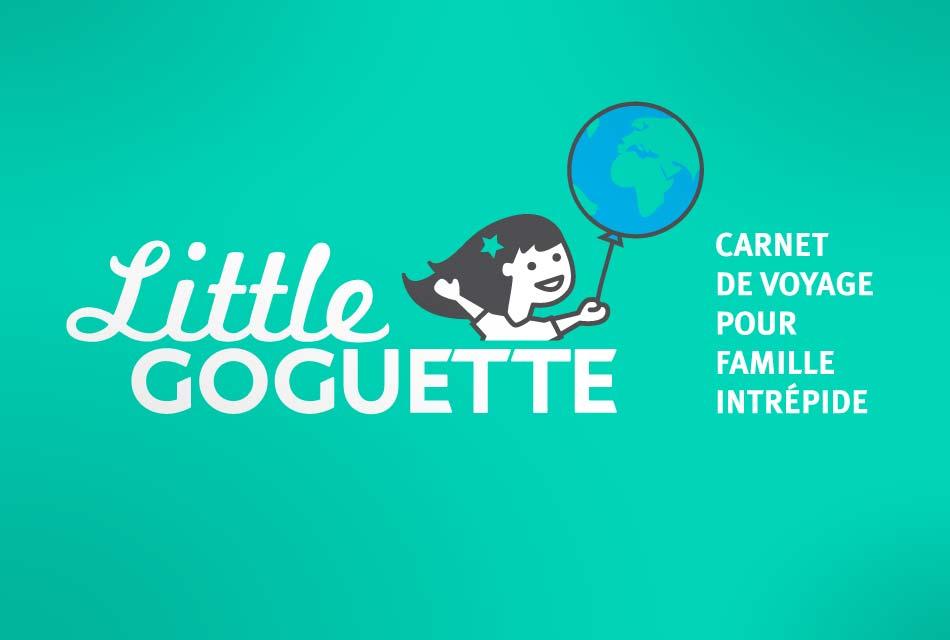 Little Goguette : illustration, logo, identité, site web - Wala Studio Graphique