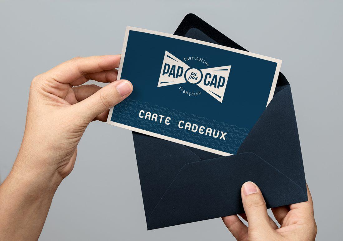 PAP OU PAS CAP - refonte de logo