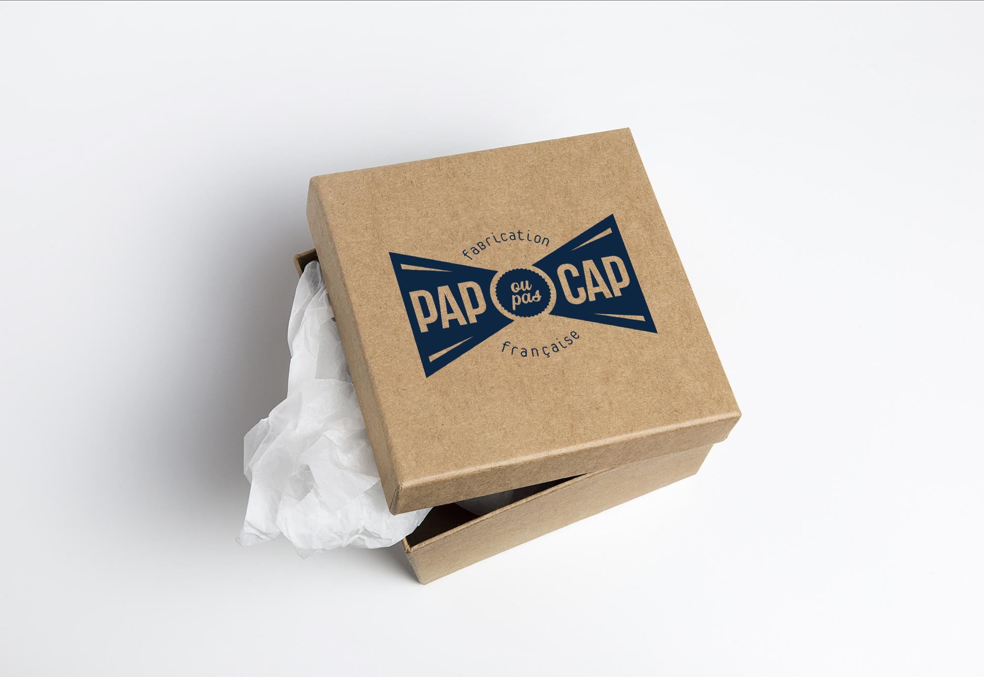 Refonte du logotype PAP OU PAS CAP