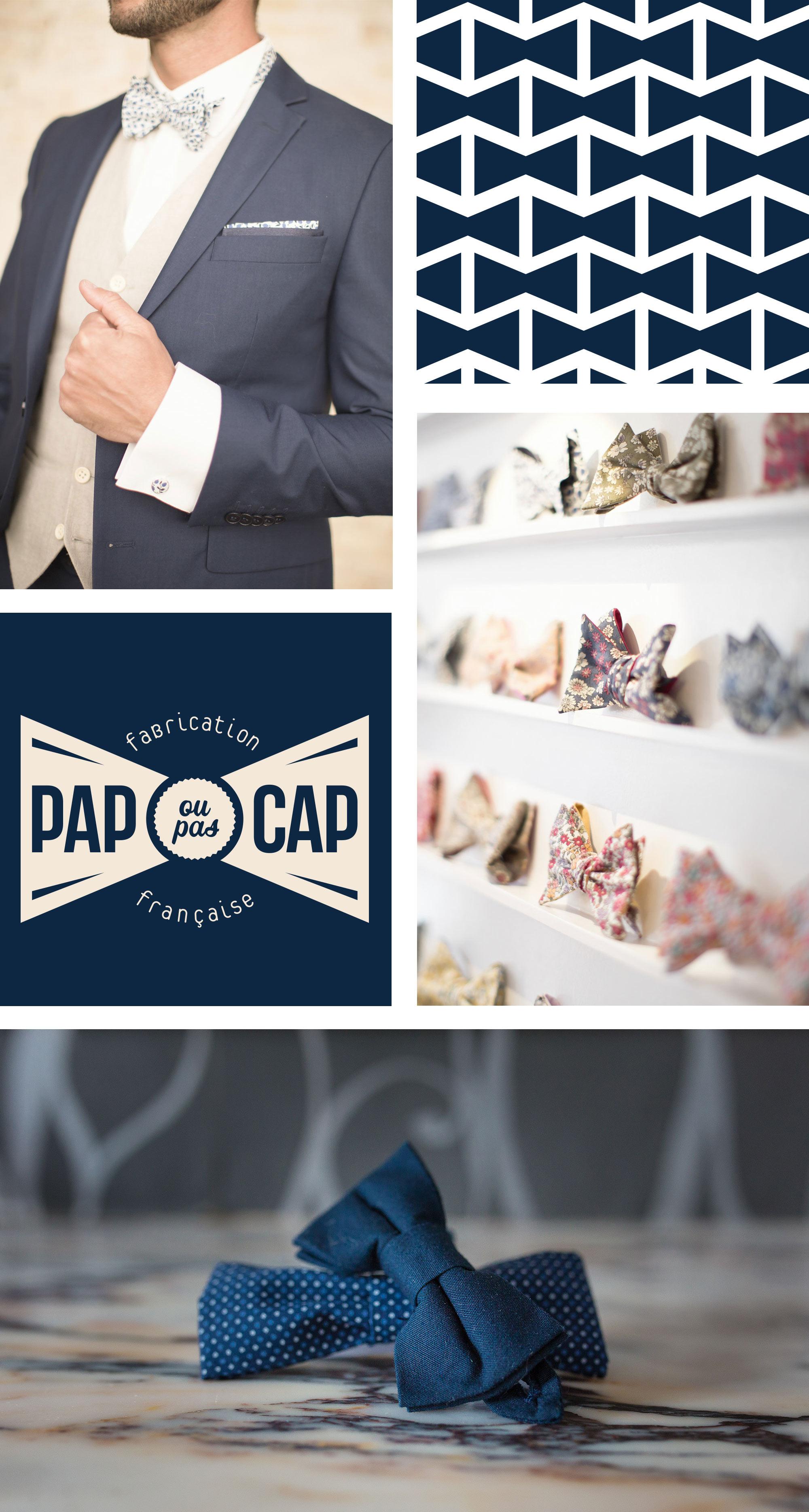 refonte du logo PAP OU PAS CAP