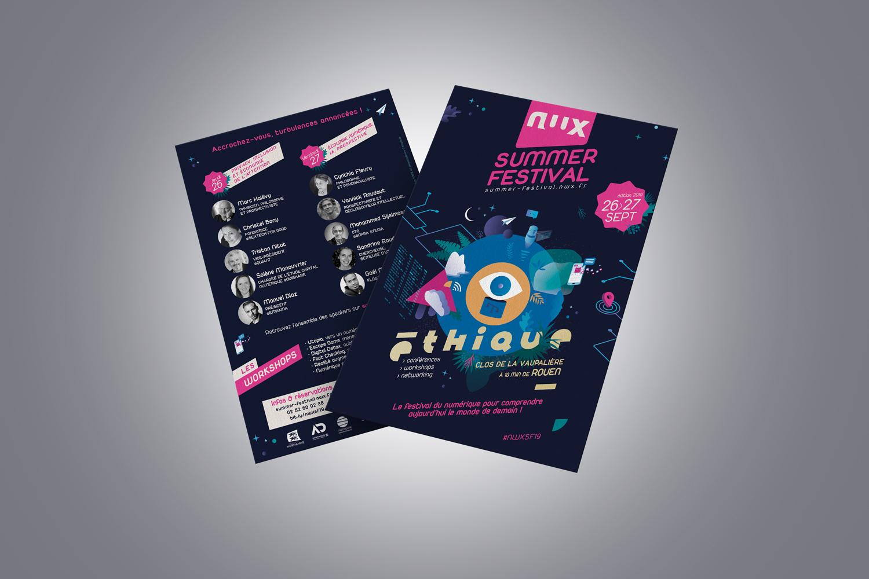 Flyer-Identite-graphique-NWX-Summer-Festival-2019-wala-studio-graphique-Caen